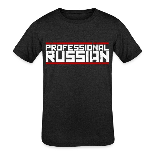 FPS Russia Logo MP Long Sleeve Shirts - Kids' Tri-Blend T-Shirt
