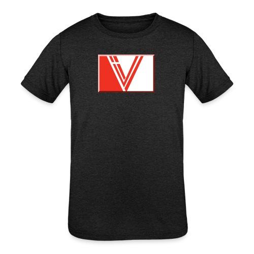 LBV red drop - Kids' Tri-Blend T-Shirt