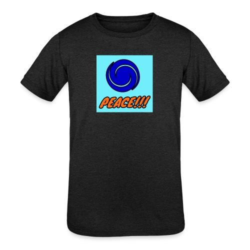 Peace - Kids' Tri-Blend T-Shirt