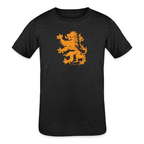 Dutch Lion - Kids' Tri-Blend T-Shirt