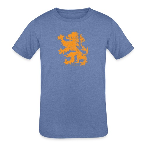 Dutch Lion - Kids' Tri-Blend T-Shirt