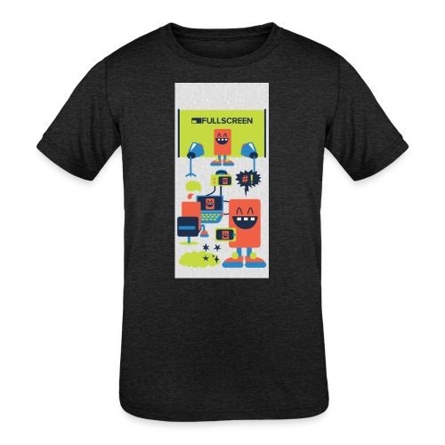 iphone5screenbots - Kids' Tri-Blend T-Shirt