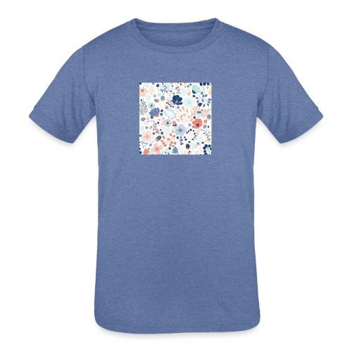 flowers - Kids' Tri-Blend T-Shirt