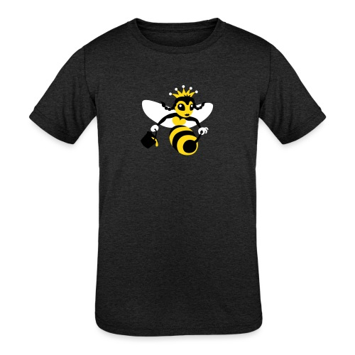 Queen Bee - Kids' Tri-Blend T-Shirt