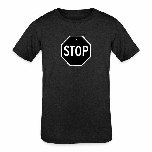 Stop 1 - Kids' Tri-Blend T-Shirt
