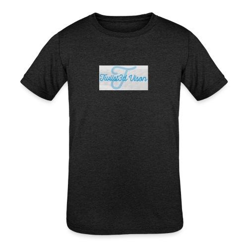 TwiiSt3D - Kids' Tri-Blend T-Shirt