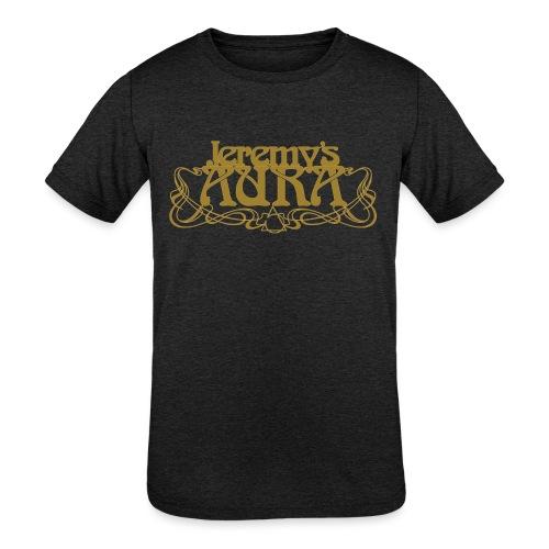 Jeremy's Art Nouveau Logo - Kids' Tri-Blend T-Shirt
