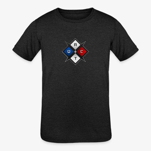 RTQC Logo - Kids' Tri-Blend T-Shirt