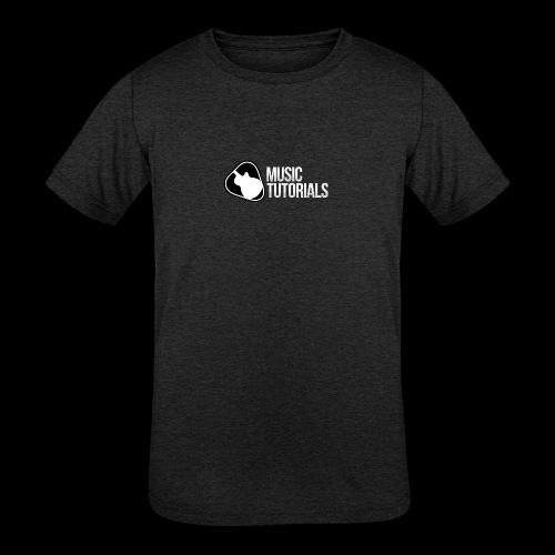 Music Tutorials Logo - Kids' Tri-Blend T-Shirt