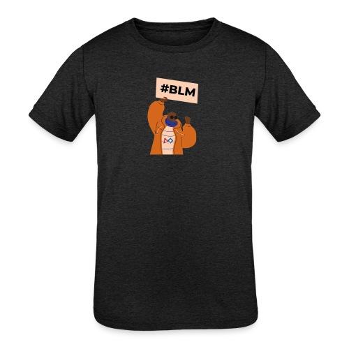 #BLM FIRST Man Petitioner - Kids' Tri-Blend T-Shirt
