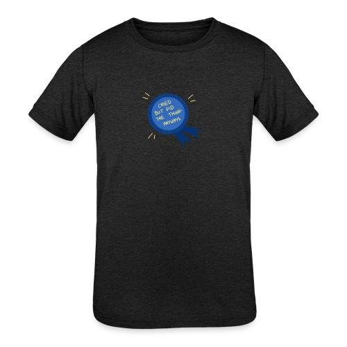 Regret - Kids' Tri-Blend T-Shirt