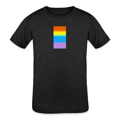 Modern Rainbow - Kids' Tri-Blend T-Shirt