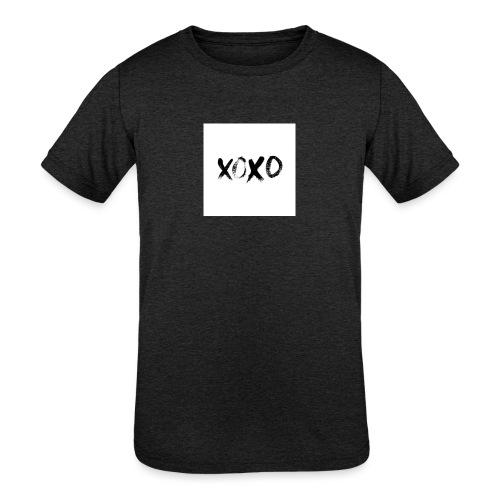 xoxo - Kids' Tri-Blend T-Shirt