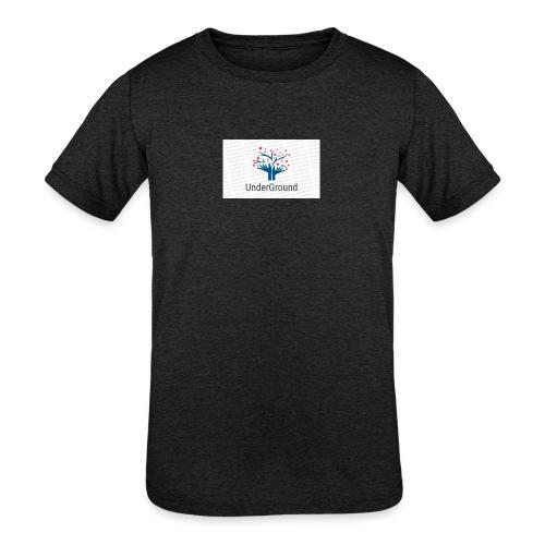 Charity Logo - Kids' Tri-Blend T-Shirt