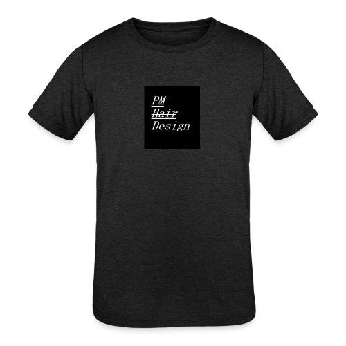 PM Hair Design - Kids' Tri-Blend T-Shirt