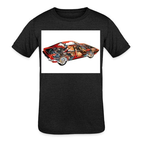 FullSizeRender mondial - Kids' Tri-Blend T-Shirt