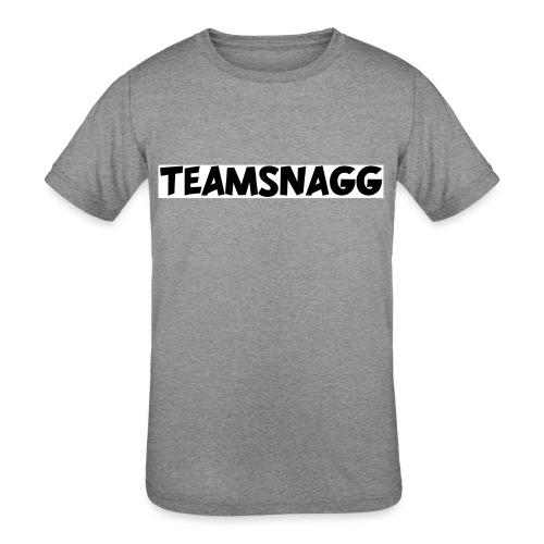 TeamSnagg Logo - Kids' Tri-Blend T-Shirt