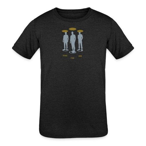 Pathos Ethos Logos 1of2 - Kids' Tri-Blend T-Shirt