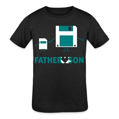Father and Son - Kids' Tri-Blend T-Shirt