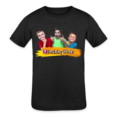 hobbykids shirt - Kids' Tri-Blend T-Shirt