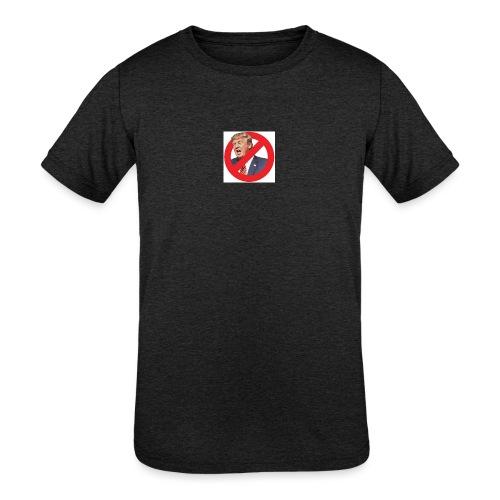 blog stop trump - Kids' Tri-Blend T-Shirt