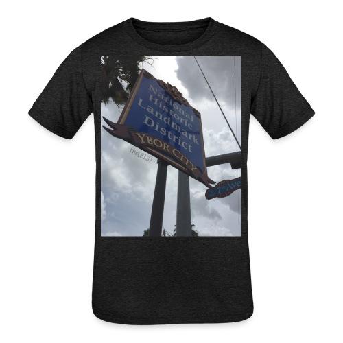 Ybor City NHLD - Kids' Tri-Blend T-Shirt