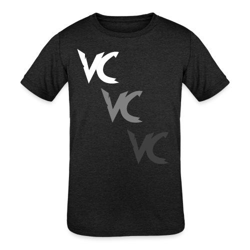 V3L0C1TY Logo Mugs & Drinkware - Kids' Tri-Blend T-Shirt