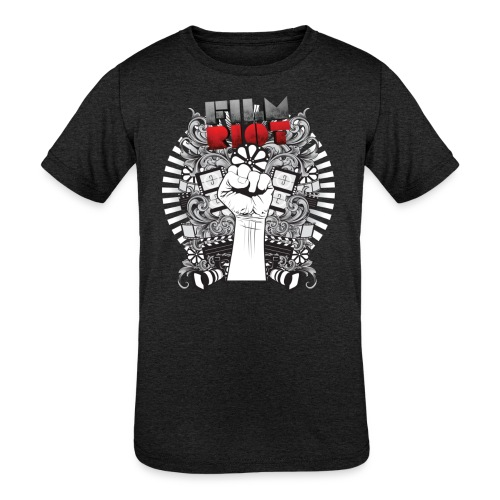 Film Riot - Kids' Tri-Blend T-Shirt