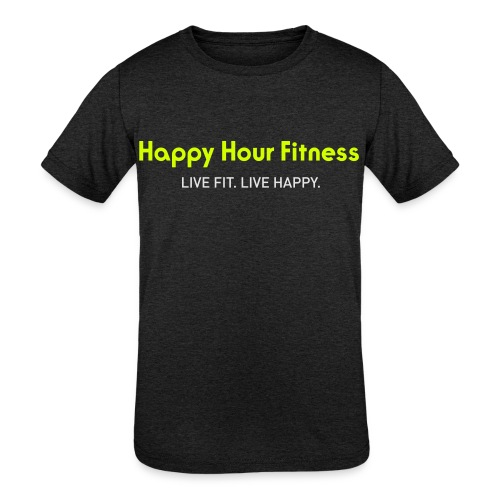 HHF_logotypeandtag - Kids' Tri-Blend T-Shirt