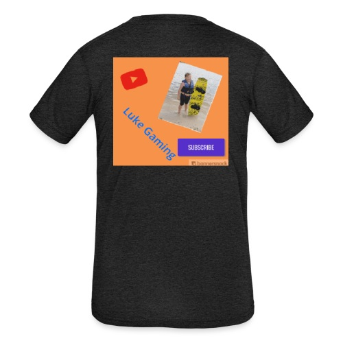 Luke Gaming T-Shirt - Kids' Tri-Blend T-Shirt