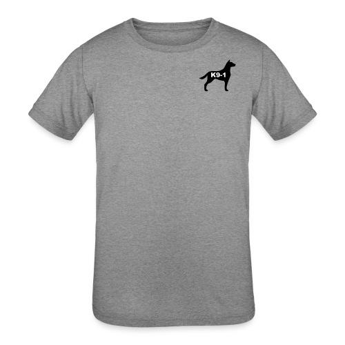 k9-1 Logo Large - Kids' Tri-Blend T-Shirt