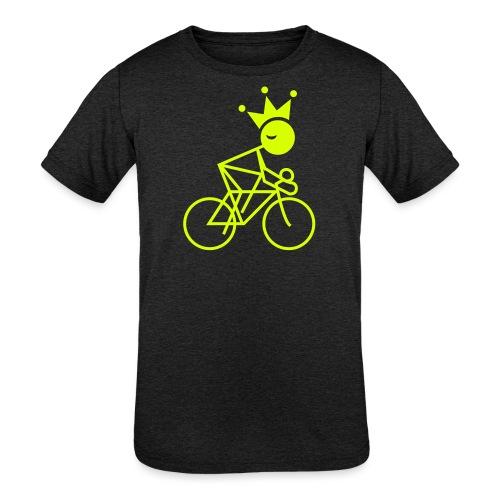 Winky Cycling King - Kids' Tri-Blend T-Shirt