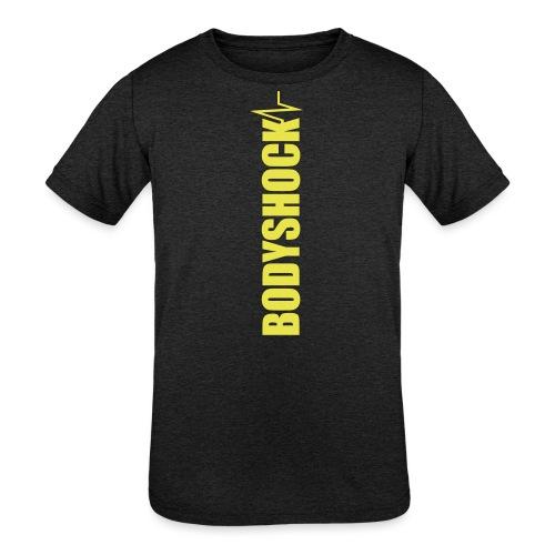 BodyShock Leggings - Kids' Tri-Blend T-Shirt