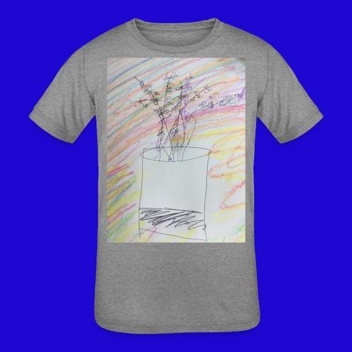 Lazy Artwork - Kids' Tri-Blend T-Shirt