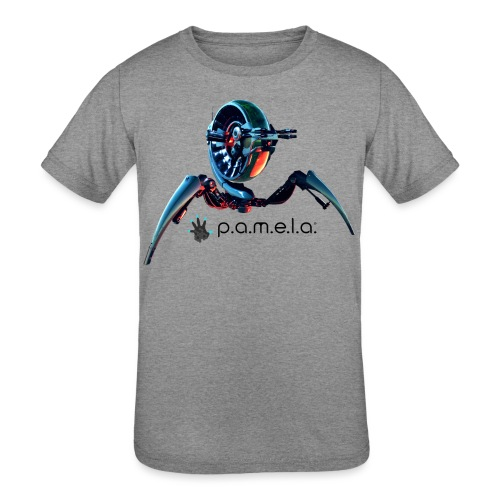 P.A.M.E.L.A. Turret - Kids' Tri-Blend T-Shirt