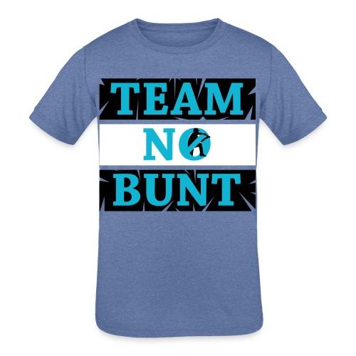 Team No Bunt - Kids' Tri-Blend T-Shirt