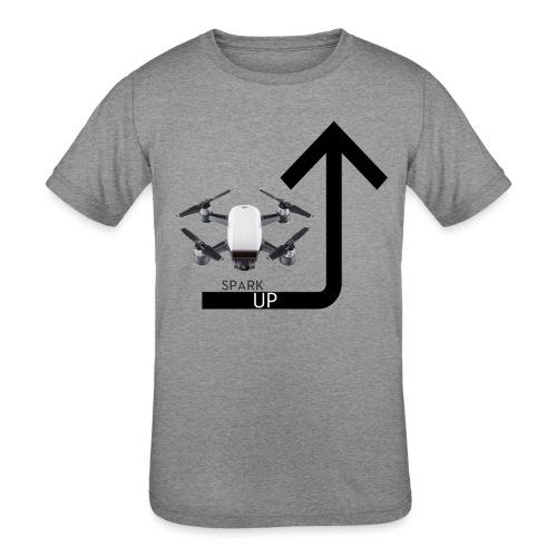 Spark Up - Kids' Tri-Blend T-Shirt