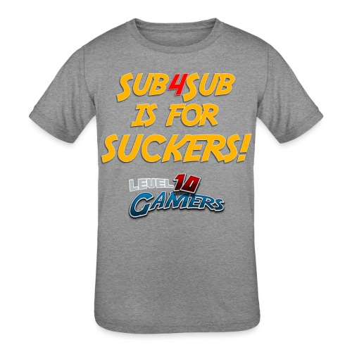 Anti Sub4Sub - Kids' Tri-Blend T-Shirt