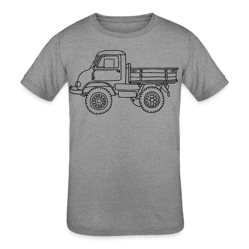 Off-road truck, transporter - Kids' Tri-Blend T-Shirt