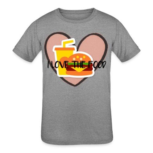 Food - Kids' Tri-Blend T-Shirt