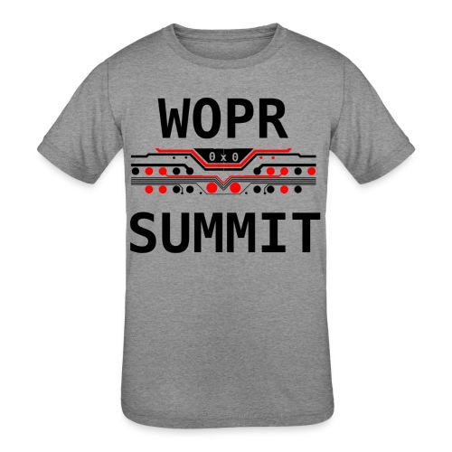 WOPR Summit 0x0 RB - Kids' Tri-Blend T-Shirt