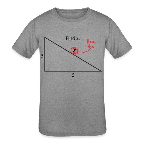 Find X - Kids' Tri-Blend T-Shirt
