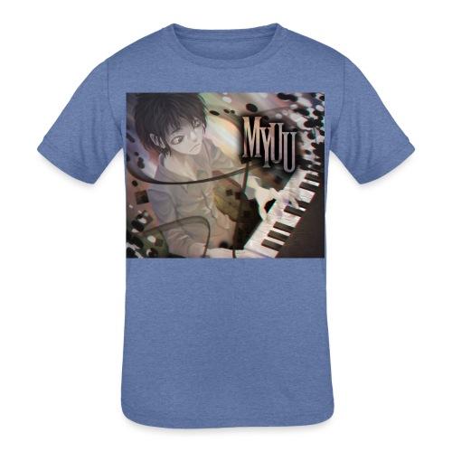 Dark Piano 1 - Kids' Tri-Blend T-Shirt