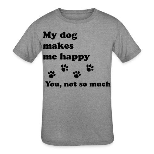 love dog 2 - Kids' Tri-Blend T-Shirt