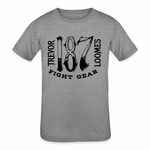 Trevor Loomes 187 Fight Gear Street Wear Logo - Kids' Tri-Blend T-Shirt