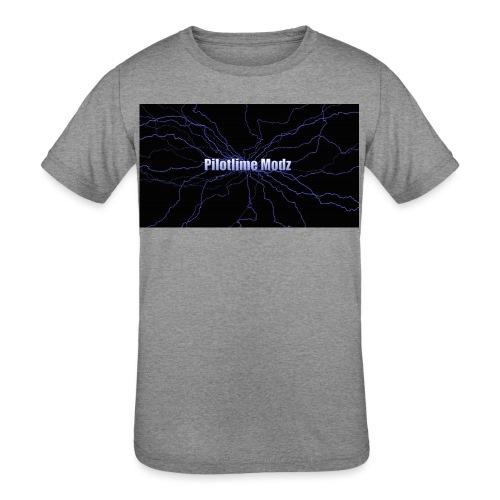 backgrounder - Kids' Tri-Blend T-Shirt