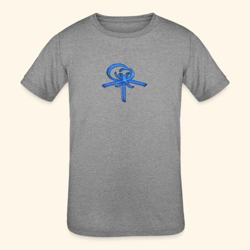 Back LOGO LOB - Kids' Tri-Blend T-Shirt
