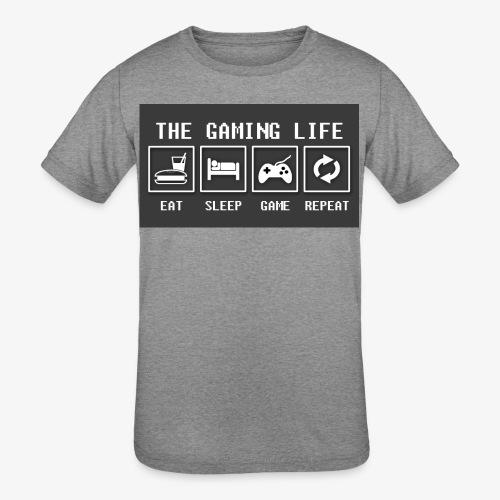 Gaming is life - Kids' Tri-Blend T-Shirt
