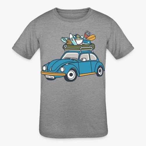 Gone Fishin' - Kids' Tri-Blend T-Shirt