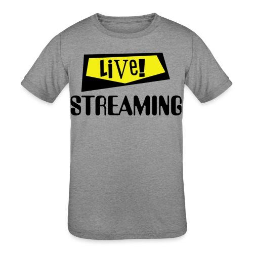 Live Streaming - Kids' Tri-Blend T-Shirt